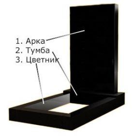 Гранитный памятник за 2 500 грн