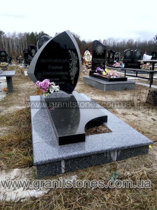 Памятник необычный на могилу гранитный