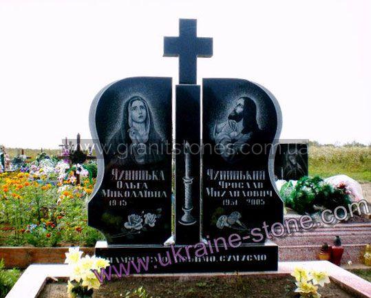 Купить гранитный памятник двойной изготовление памятников калуга ярославль