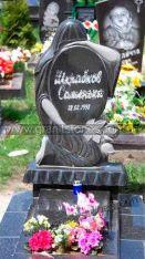 Памятник для ребенка статуя женщина с цветами