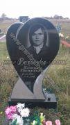 Памятник на могилу сердце