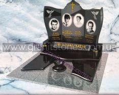 Элитный памятник на могилу для семьи