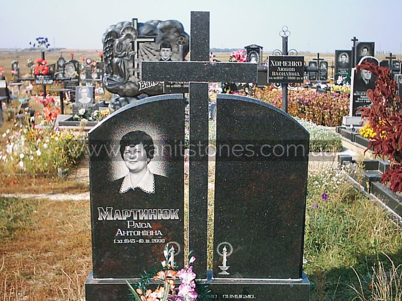 Памятник на могилу для двоих