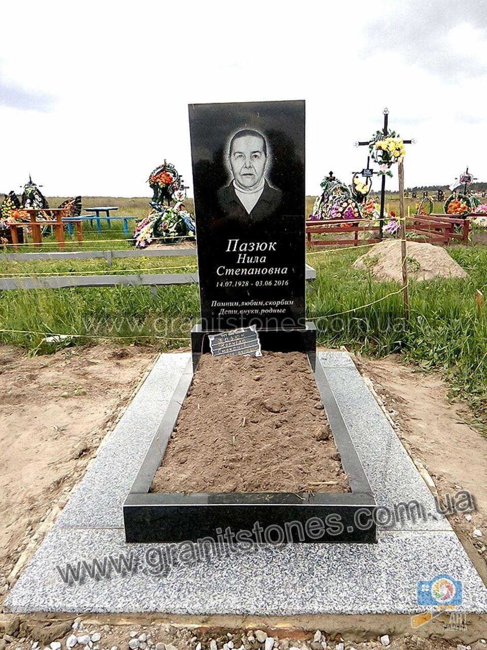 Эконом памятник Арка Дегтярск памятник с габбро-диабаз с крестом и ангелом