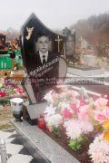 Памятник на могилу ребенка стелла черная цветник серый
