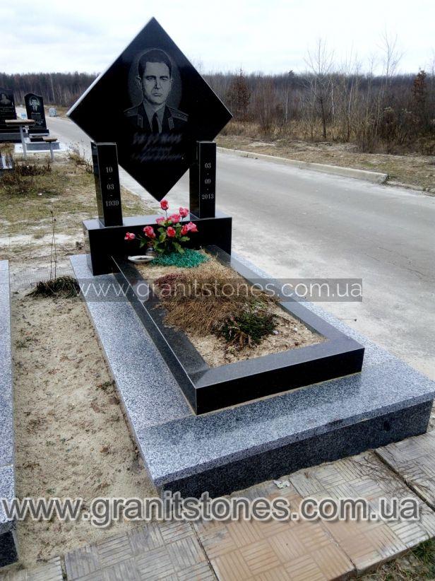 Памятник в виде ромба гранит на могилу