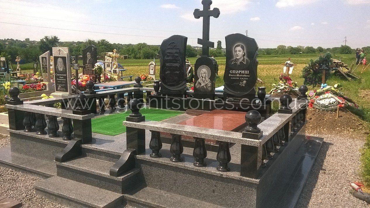 Заказать надгробие в богодухове Прямоугольный вертикальный памятник Олекминск