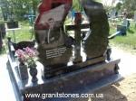 Элитный двойной памятник гранитный на могилу